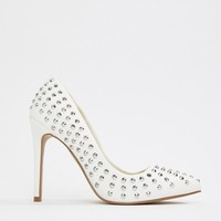 ASOS DESIGN Pride Studded Pointed Heels at asos.com