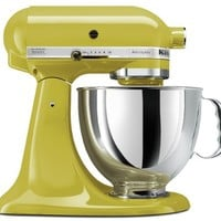 KitchenAid KSM150PSPE Artisan Series 5-Qt. Stand Mixer with Pouring Shield - Pear