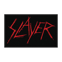 Slayer Men's Woven Patch Black
