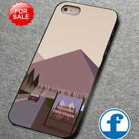 Welcome to Twin Peaks For iphone, ipod, samsung galaxy, HTC and Nexus PHONE CASE