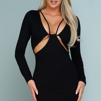 Marcella Mini Dress - Black