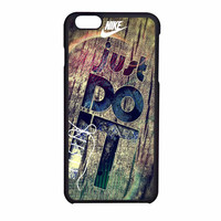 Nike Just Do It Wood iPhone 6 Case
