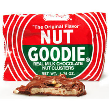 Nut Goodie Clusters Candy Bars: 24-Piece Box