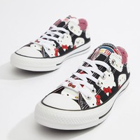 Converse X Hello Kitty Ox Trainers at asos.com