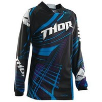 Thor Motocross Women's Phase Flora Jersey - Closeout