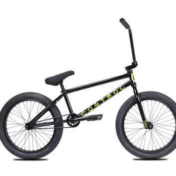 Cult Control A Black Complete BMX Bike 2017