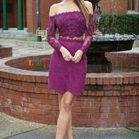 Short Lace Night Out Dress