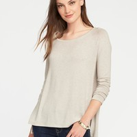 Loose Soft-Spun Scoop-Neck Tee for Women | Old Navy