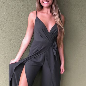 Day and Night Jumpsuit - Olive