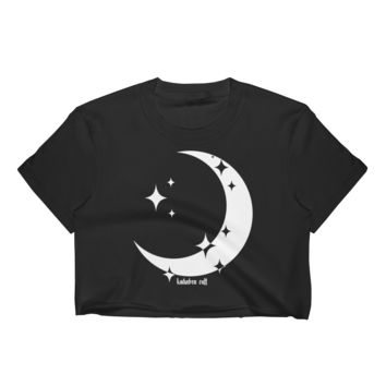 Crescent Moon Crop Top