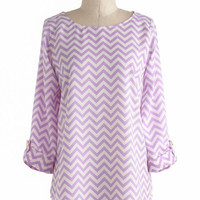 Zoom Bisou Top in Zigzag