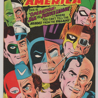 Justice League of America; V1, 61.  VF+.  March 1968.  DC Comics