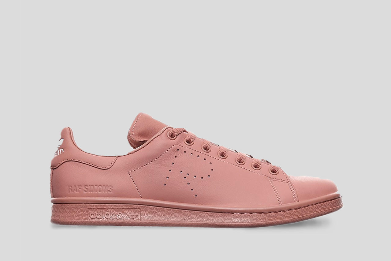 premium selection 02dd7 3c43d Adidas by Raf Simons Stan Smith / Ash Pink