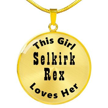 Selkirk Rex - 18k Gold Finished Luxury Necklace