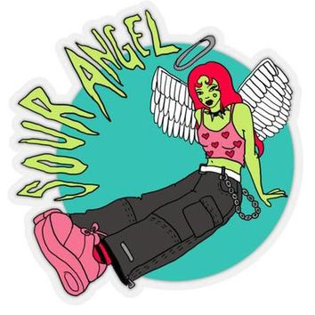 Sour Angel Sticker