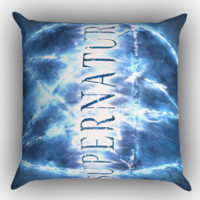 Supernatural X0033 Zippered Pillows  Covers 16x16, 18x18, 20x20 Inches