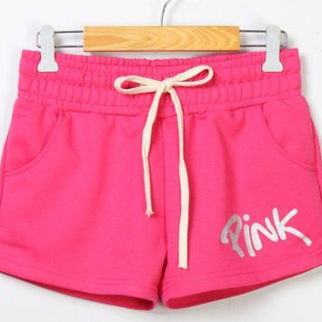DCCKL72 PINK Victoria's Secret Sport Running Gym Shorts