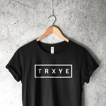 TRXYE Shirt in Black for Women