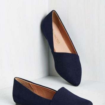 A Roll of the Diagonal Loafer | Mod Retro Vintage Flats | ModCloth.com