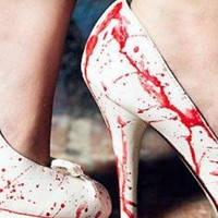 White Pumps - Victim High Heel | UsTrendy