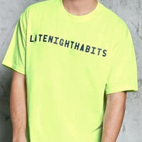 Late Night Habits Graphic Tee
