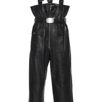 Leather Suspended Trouser | Moda Operandi