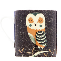 Magpie 'Wildlife by Tom Frost' Large Mug - Owl