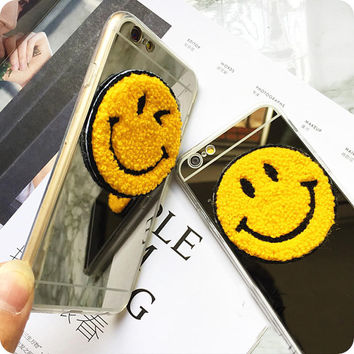 Sunshine Sunflower Smiling Face iPhone 5se 5s 6 6s Plus Case Cover