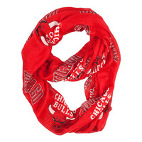 Chicago Bulls NBA Sheer Infinity Scarf