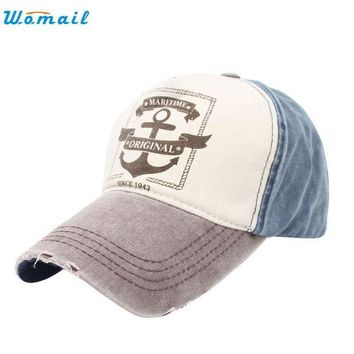 DCCKU62 Superior  Fashion Unisex Retro Anchor Hip Hop Adjustable Baseball Snapback Hat Cap JUL 06Jan 22