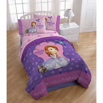 Disney Junior Sofia the First Princess Twin/Full Comforter