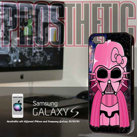 Hello Kitty Meet Darth Vander Nebula- Custom iPhone 4 case, iPhone 5 case, Samsung galaxy case, Samsung Galaxy s3 , Samsung Galaxy s4 case