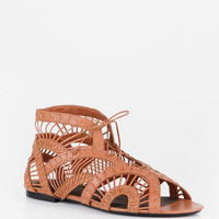 Joie Leo Lace Up Sandals in Indian Tan :: tobi