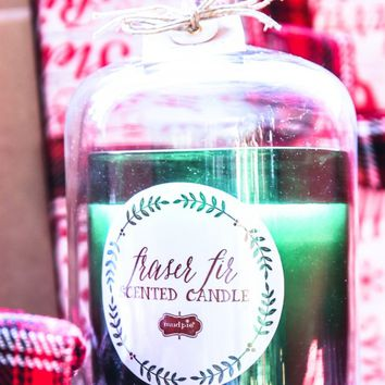 I'll Be Home For Christmas Candle-Green