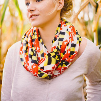 Maryland Flag / Infinity Scarf