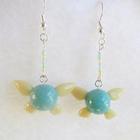 Legend Of Zelda Navi Fairy Earrings :D