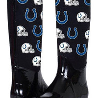 Colts Enthusiast Rain Boots on ColtsProShop.com