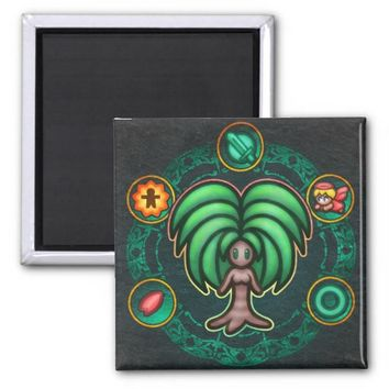 Dryad 2 Inch Square Magnet