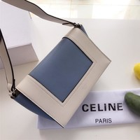 CÉLINE Leather Crossbody Shoulder bag