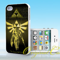 The Legend Of Zelda - Print on hardplastic for iPhone 4/4s and 5 case, Samsung Galaxy S3/S4 case.