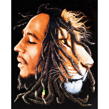 Bob Marley - Lion's Head Tapestry