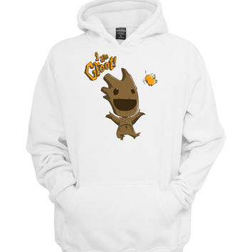 i am groot smile hoodie >>>  Size S M L XL XXL 3XL  <<<