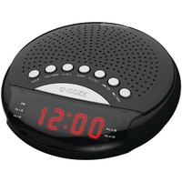 Supersonic Dual Alarm Clock Radio