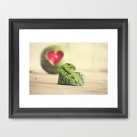 Eat Your Heart Out Framed Art Print by Beth - Paper Angels Photography | Society6