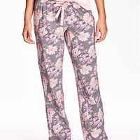 Women's Patterned Lounge Pants