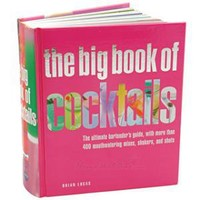 The Big Book of Cocktails Drink Recipes Book
