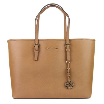 MICHAEL Michael Kors Women's Jet Set Travel Multifunction Tote, Luggage, One Size
