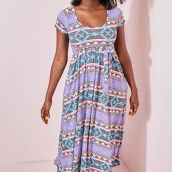 "Rebdolls ""Outerspace"" Maxi Dress With Pockets"
