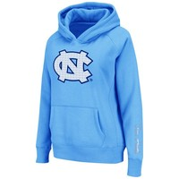 North Carolina Tar Heels (UNC) Ladies Pullover Supernova Hoodie Sweatshirt - Carolina Blue