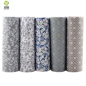 Twill Cotton Fabric Patchwork Tissue Cloth Of Handmade DIY Quilting Sewing Baby&Children Sheets Dress Material 5PCS/LOT A2-5-25